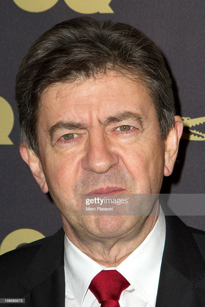 <a gi-track='captionPersonalityLinkClicked' href=/galleries/search?phrase=Jean-Luc+Melenchon&family=editorial&specificpeople=635097 ng-click='$event.stopPropagation()'>Jean-Luc Melenchon</a> attends the GQ Men of the Year 2012 at Musee d'Orsay on January 16, 2013 in Paris, France.