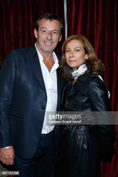 JeanLuc Reichmann and Anne Gravoin attend the Reopening of the Hotel Barriere Le Fouquet's Paris decorated by Jacques Garcia at Hotel Barriere Le...