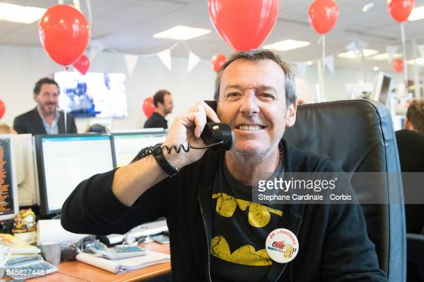 JeanLuc Reichmann attends the Aurel BGC Charity Benefit Day 2017 on September 11 2017 in Paris France