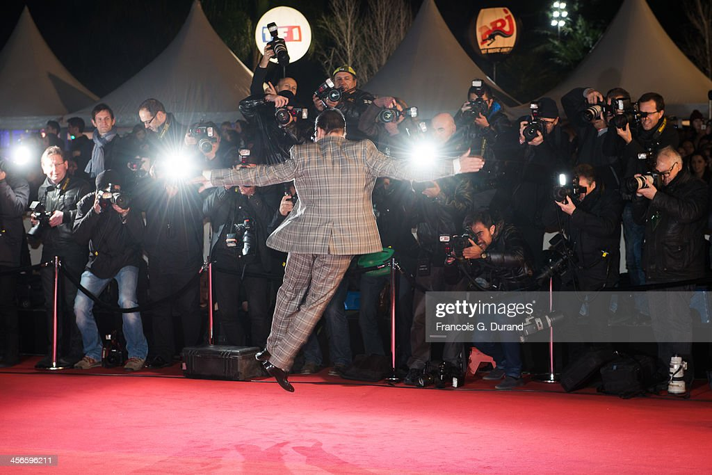 JeanMarc Genereux attends the 15th NRJ Music Awards at Palais des Festivals on December 14 2013 in Cannes France