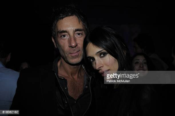JeanMarc Houmard and Athena Calderone attend LnA Afterparty hosted by MAC Milk at Milk Gallery on February 11 2010 in New York City