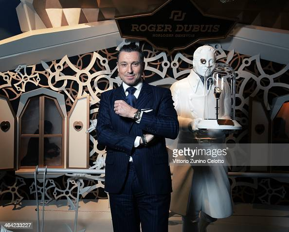 JeanMarc Pontroue poses during Roger Dubuis at the SIHH 2014 day 2 on January 21 2014 in Geneva Switzerland
