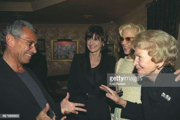 JeanMarie and AnneMarie Perier Sylvie Vartan and her mother