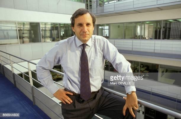 JeanMarie Colombani redacteur en chef du quotidien Le Monde le 27 septembre 1990 a Paris France