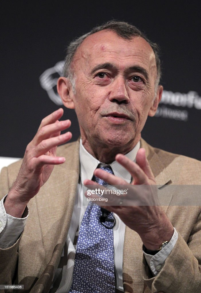 Jean-Marie Eveillard, senior adviser at First Eagle Investment Management, speaks at the Bloomberg Markets 50 Summit in New York, U.S., on Thursday, Sept. 13, 2012. The conference brings together the world's most influential leaders in finance, business and government to discuss the global economy. Photographer: Jin Lee/Bloomberg via Getty Images