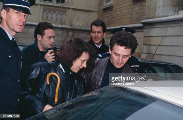 JeanMarie Villemin and his wife Christine at the courthouse in Dijon France to testify in the case of the 1984 murder of their four yearold son...