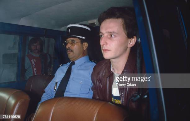 JeanMarie Villemin in police custody at Epinal Vosges France during his trial for the murder of Bernard Laroche 12th September 1985 In March 1985...