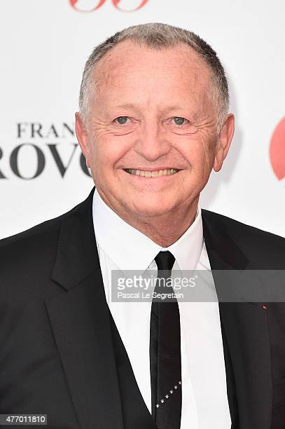 JeanMichel Aulas arrives at the opening ceremony of the 55th Monte Carlo TV Festival on June 13 2015 in MonteCarlo Monaco
