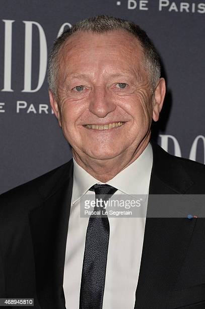 JeanMichel Aulas attends the 'Paris Merveilles' Lido New Revue Opening Gala at Le Lido on April 8 2015 in Paris France