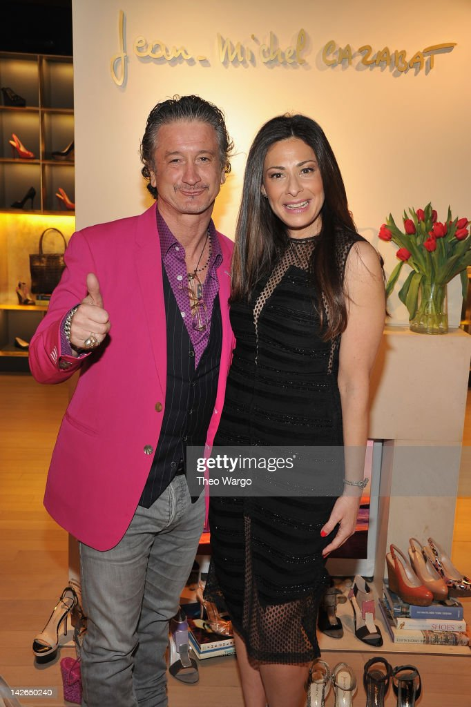JeanMichel Cazabat and Stacy London attend the Spring Shopping Night hosted by Designer JeanMichel Cazabat and Style Guru Stacy London at 350...