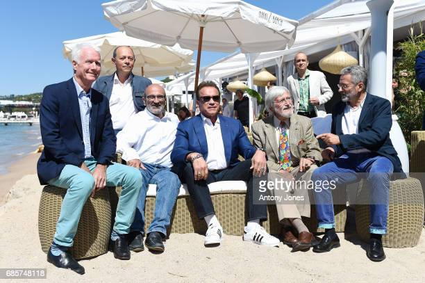 JeanMichel Cousteau Arnold Schwarzenegger and guests attend Arnold Schwarzenegger and JeanMichel Cousteau Photocall for 'Wonders of the Sea 3D'...