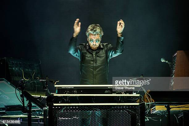 JeanMichel Jarre performs at Barclaycard Arena on October 8 2016 in Birmingham England