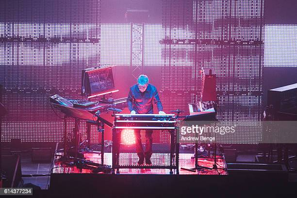 JeanMichel Jarre performs at First Direct Arena Leeds on October 13 2016 in Leeds England
