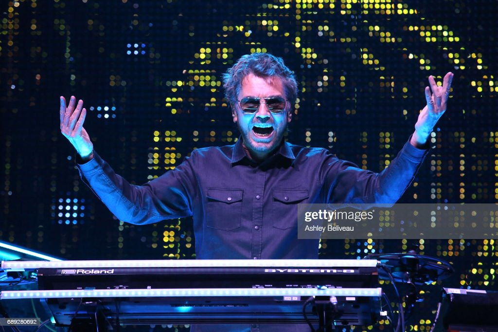 Jean-Michel Jarre Performs At Microsoft Theater