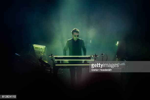 JeanMichel Jarre performs live on stage during a concert at Zitadelle Spandau on July 11 2017 in Berlin Germany