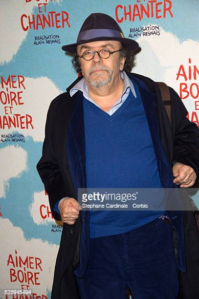 JeanMichel Ribes attends the premiere of 'Aimer Boire et Chanter' in Paris