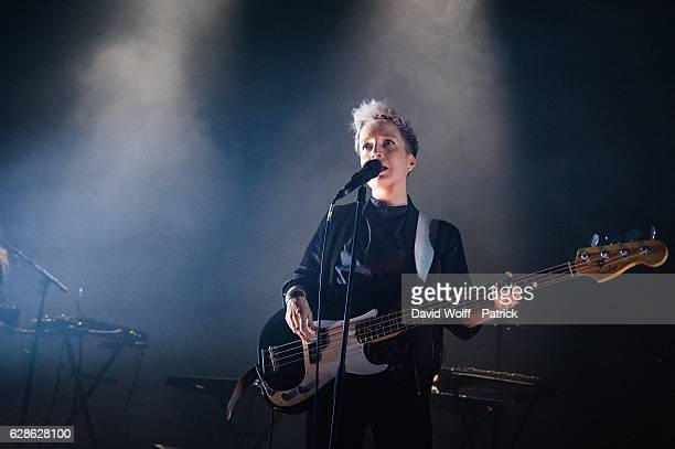 Jeanne Added performs at Elysee Montmartre on December 8 2016 in Paris France