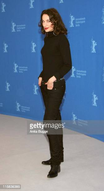 Jeanne Balibar during The 57th Annual Berlinale International Film Festival 'Don't Touch The Axe' Photocall and Press Conference at Grand Hyatt in...