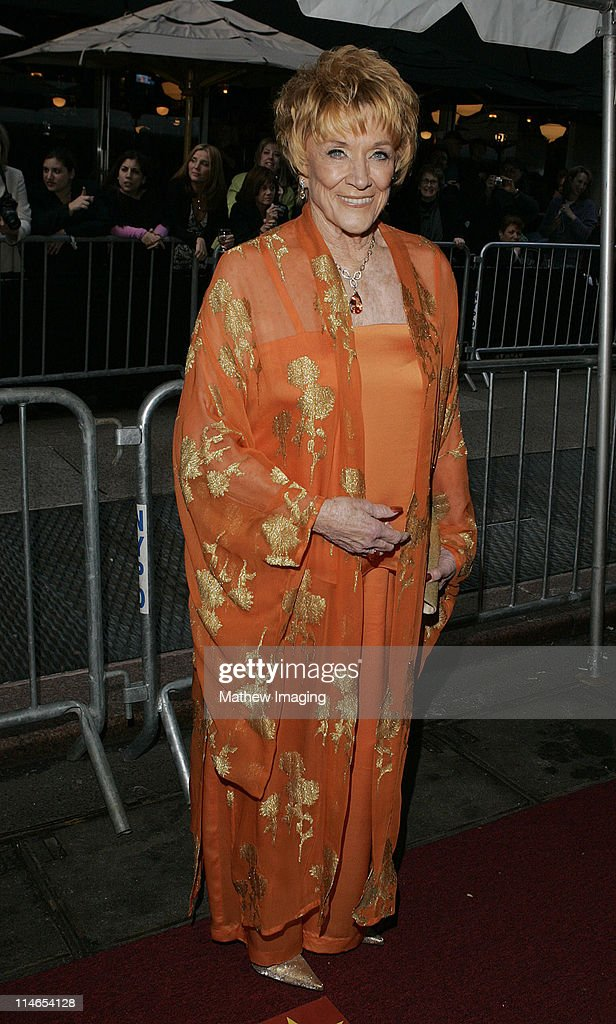 <a gi-track='captionPersonalityLinkClicked' href=/galleries/search?phrase=Jeanne+Cooper&family=editorial&specificpeople=208646 ng-click='$event.stopPropagation()'>Jeanne Cooper</a> during 32nd Annual Daytime Emmy Awards - Arrivals at Radio City Music Hall in New York City, New York, United States.