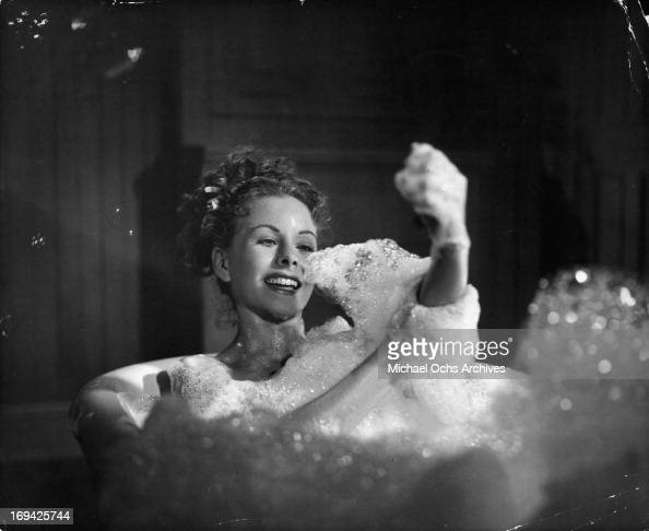 Bubble film stock photos and pictures getty images for Bathroom scenes photos