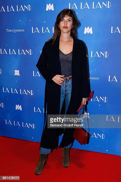 Jeanne Damas attend the 'La La Land' Paris Premiere at Cinema UGC Normandie on January 10 2017 in Paris France