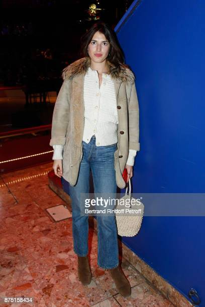 Jeanne Damas attends 'Depardieu Chante Barbara' at 'Le Cirque D'Hiver' on November 14 2017 in Paris France