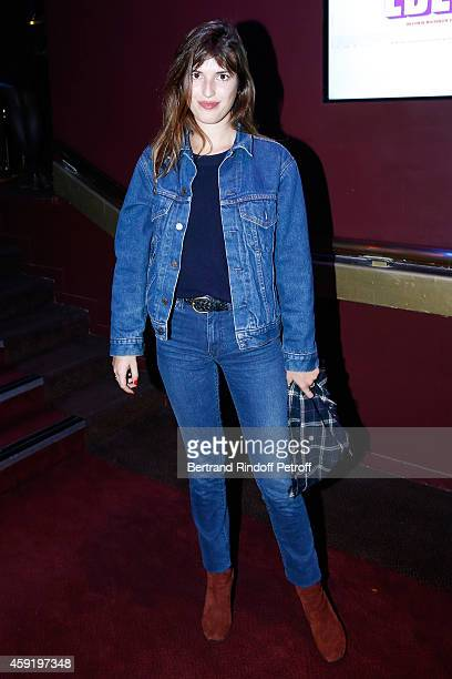 Jeanne Damas attends the 'Eden' Paris Premiere at Cinema Gaumont Marignan on November 18 2014 in Paris France