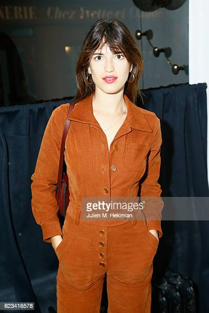 Jeanne Damas attends the Lolita Jacobs Hosts Dinner for Dodo x Colette at Crudus on November 15 2016 in Paris France