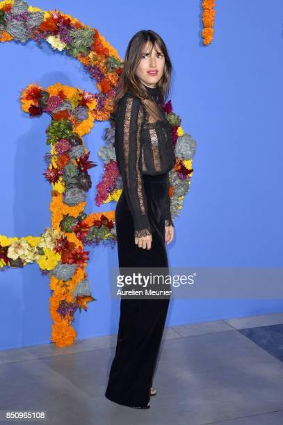Jeanne Damas attends the opening season gala at Opera Garnier on September 21 2017 in Paris France