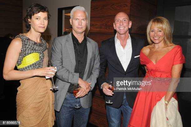 Jeanne Greenberg Rohatyn Klaus Biesenbach Todd Bishop and Lisa Dennison attend AMY JOHN PHELAN host wineCRUSH 2010 for the ASPEN ART MUSEUM at Phelan...