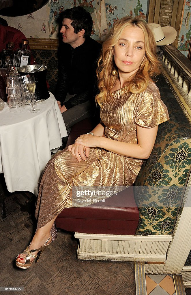 Jeanne Marine attends Fran Cutler's surprise birthday party supported by ABSOLUT Elyx at The Box Soho on April 30, 2013 in London, England.