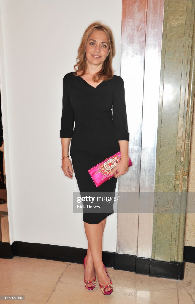 Jeanne Marine attends the Veuve Clicquot Business Woman of the Year award at Claridges Hotel on April 22, 2013 in London, England.