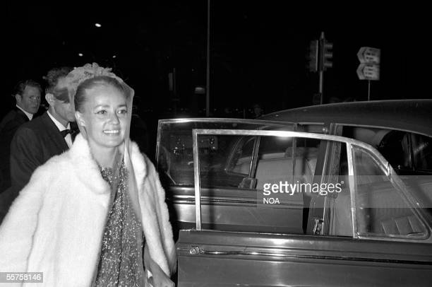 Jeanne Moreau French actress Festival of Cannes 1966 HA17664