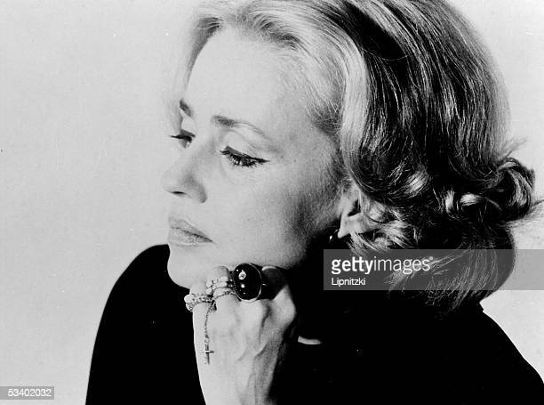 Jeanne Moreau French comedienne RV334545