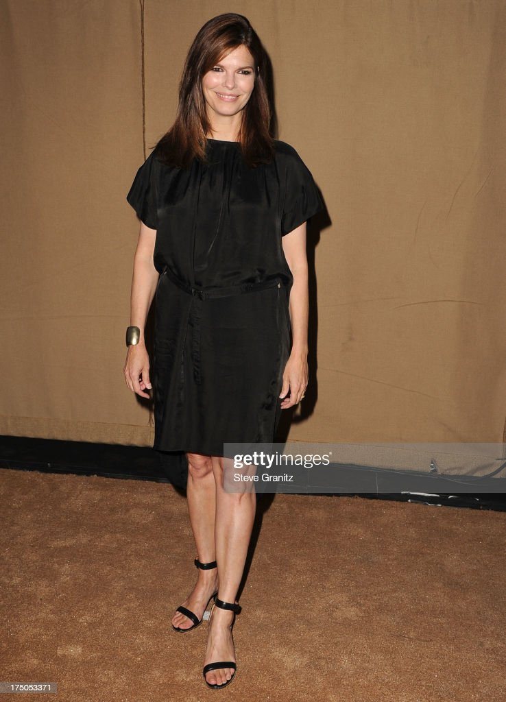 Jeanne Tripplehorn arrives at the Television Critic Association's Summer Press Tour - CBS/CW/Showtime Party at 9900 Wilshire Blvd on July 29, 2013 in Beverly Hills, California.