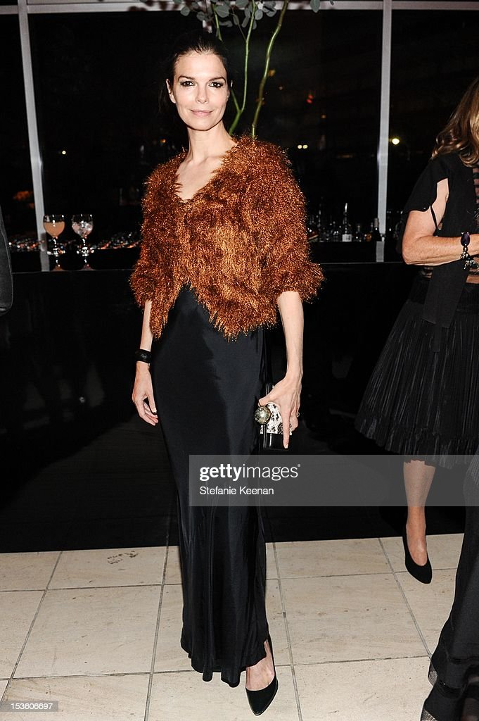 Jeanne Tripplehorn attends2012 Hammer Gala at Hammer Museum on October 6, 2012 in Westwood, California.