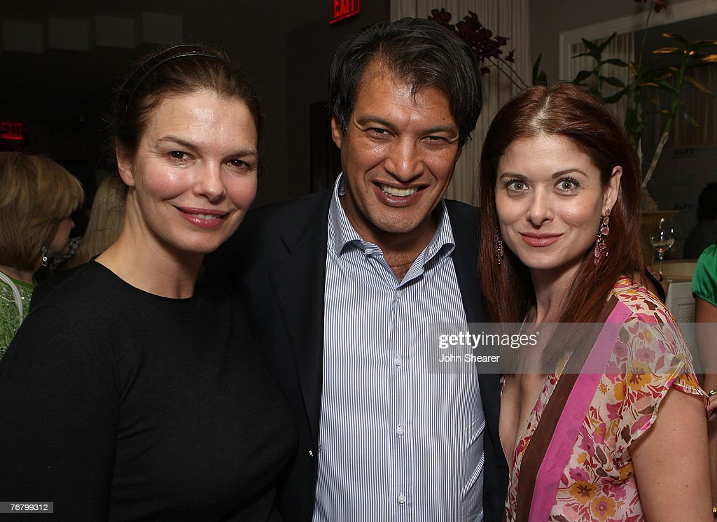Jeanne Tripplehorn, Frederic Fekkai and Debra Messing attends The Gersh Agency EMMY Party w/Special Guest Frederic Fekkai held at The Terrace at Sunset Tower Hotel on September 14, 2007 in Los Angeles, California.
