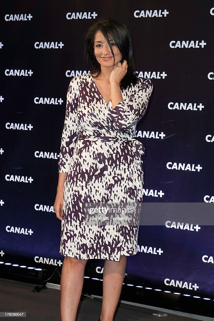 Jeannette Bougrab at the 'Rentree De Canal +' photocall at Porte De Versailles on August 28, 2013 in Paris, France.