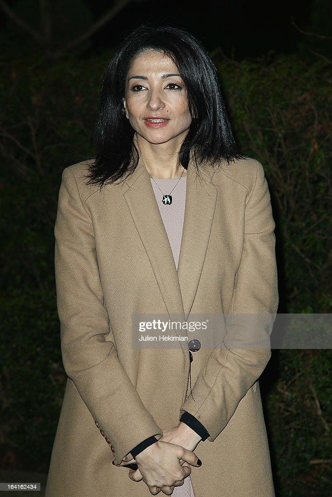 Jeannette Bougrab attends the 28th Dinner of 'Conseil Rrepresentatif Des Institutions Juives De France at Pavillon d'Armenonville on March 20, 2013 in Paris, France.