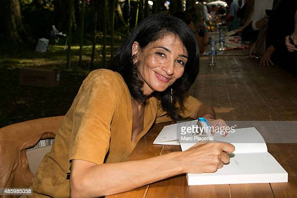 Jeannette Bougrab attends the 2Oth 'La Foret des Livres' book fair on August 30 2015 in ChanceauxpresLoches France