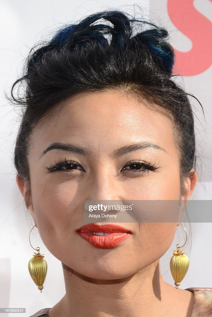 Jeannie Mai arrives at the 3rd Annual Streamy Awards at The Hollywood Palladium on February 17, 2013 in Los Angeles, California.
