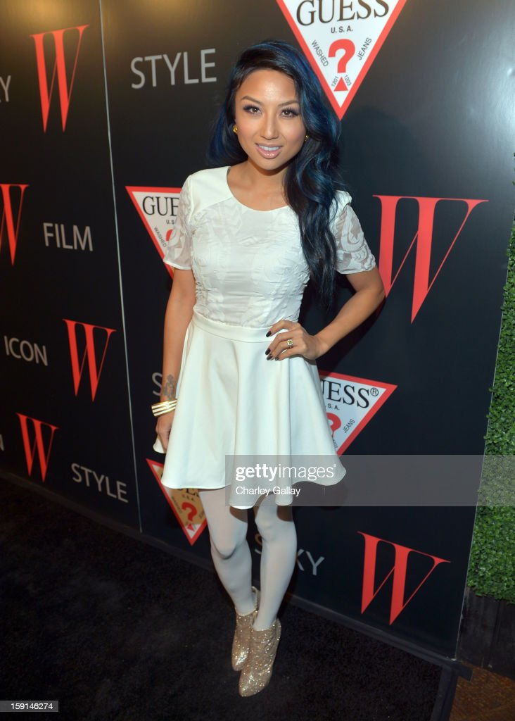 Jeannie Mai attends '30 Years Of Fashion And Film And The Next Generation Of Style Icons' with W Magazine and GUESS at Laurel Hardware on January 8, 2013 in West Hollywood, California.