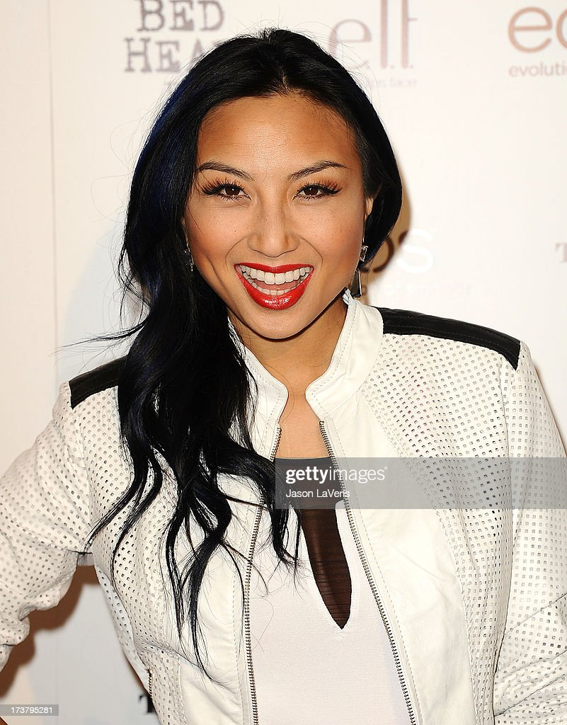 <a gi-track='captionPersonalityLinkClicked' href=/galleries/search?phrase=Jeannie+Mai&family=editorial&specificpeople=5848549 ng-click='$event.stopPropagation()'>Jeannie Mai</a> attends OK! Magazine's annual 'So Sexy' party at SkyBar at the Mondrian Los Angeles on April 17, 2013 in West Hollywood, California.