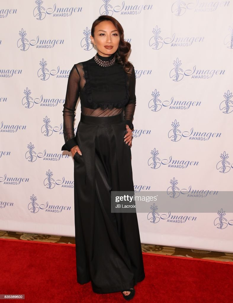 Jeannie Mai attends the 32nd annual Imagen Awards on August 18, 2017 in Los Angeles, California.
