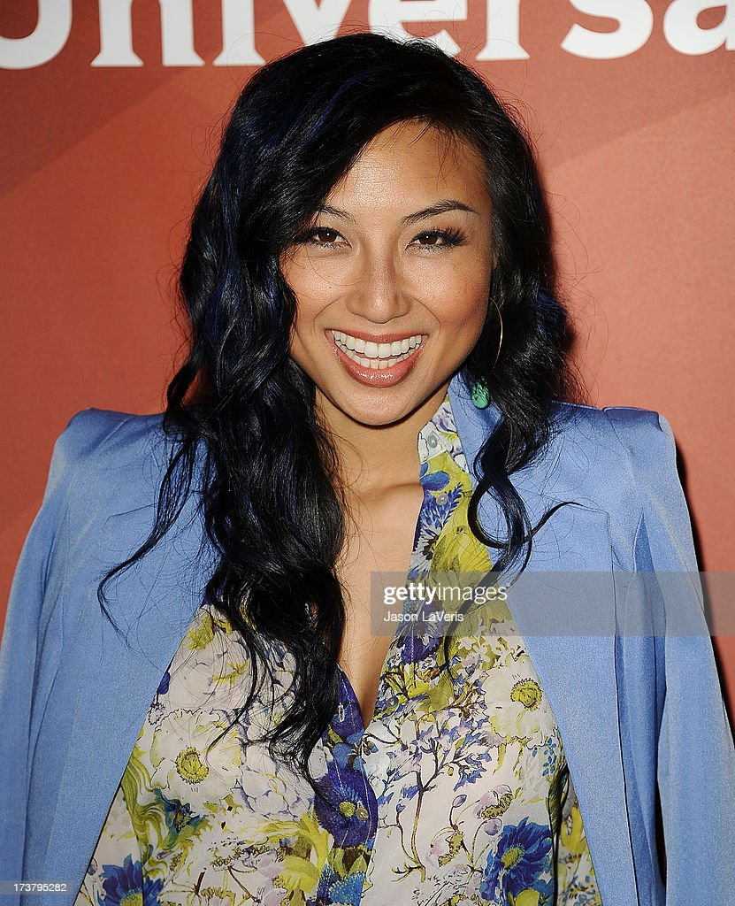 <a gi-track='captionPersonalityLinkClicked' href=/galleries/search?phrase=Jeannie+Mai&family=editorial&specificpeople=5848549 ng-click='$event.stopPropagation()'>Jeannie Mai</a> attends the NBCUniversal summer press day at The Langham Huntington Hotel and Spa on April 22, 2013 in Pasadena, California.