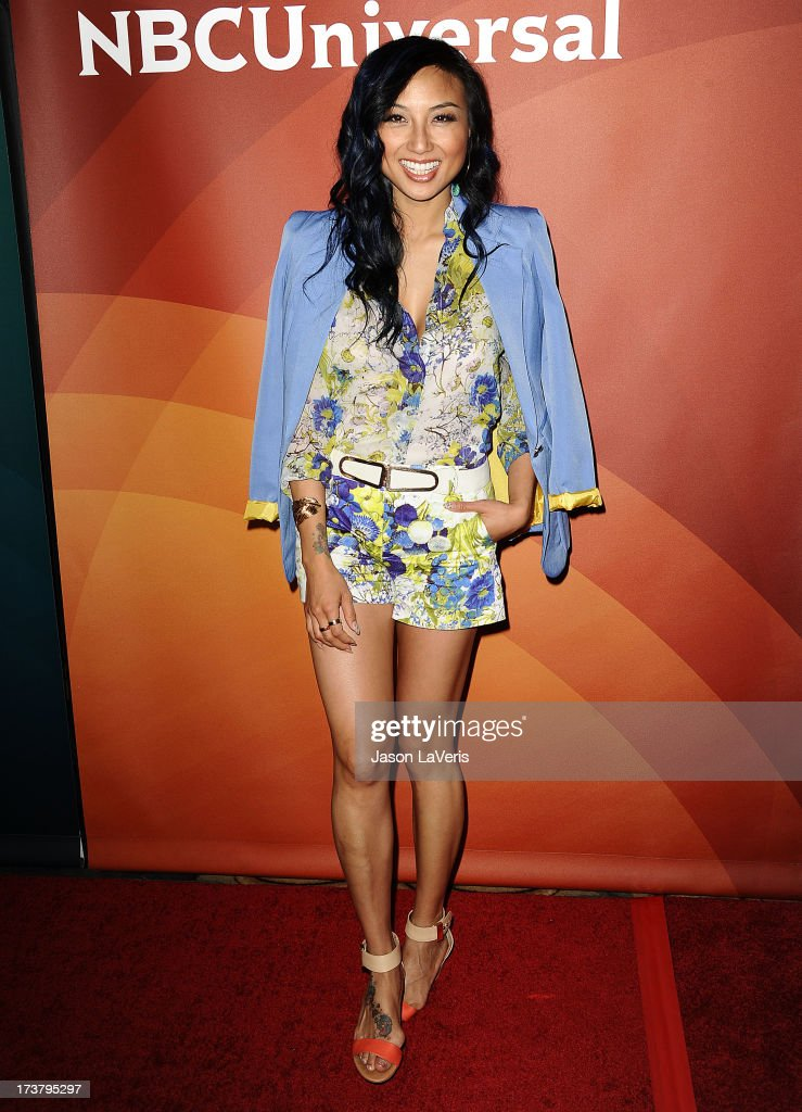 Jeannie Mai attends the NBCUniversal summer press day at The Langham Huntington Hotel and Spa on April 22, 2013 in Pasadena, California.