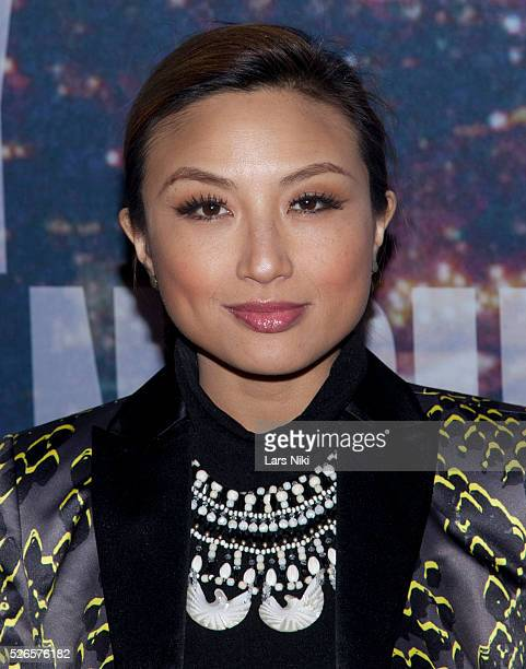 Jeannie Mai attends the ''SNL 40th Anniversary Special' at Rockfeller Plaza in New York City �� LAN