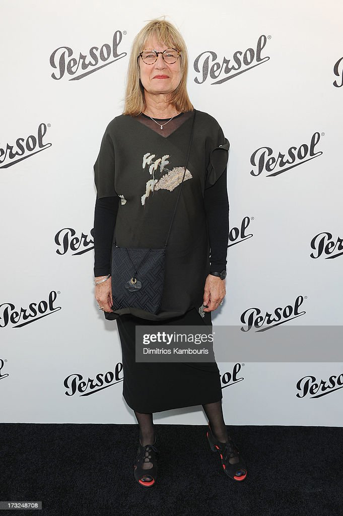 Jeannine Oppewall attends the Persol Magnificent Obsessions event honoring Julie Weiss and Jeannine Oppewall at the MMI on July 10, 2013 in New York City.