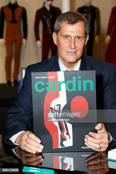 JeanPascal Hesse is pictured during his book signing at Pierre Cardin Museum as part of the Paris Fashion Week Womenswear Spring/Summer 2018 on...