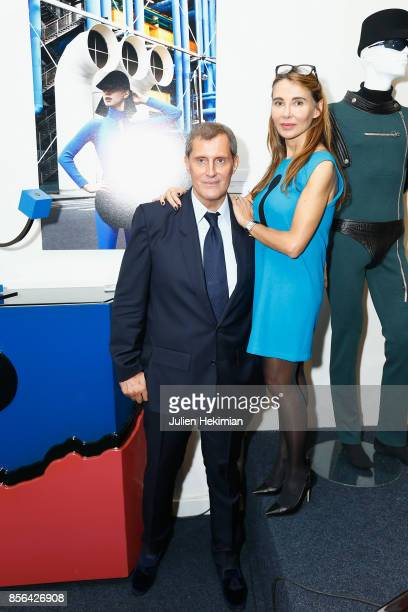 JeanPascal Hesse is pictured during his book signing with photographer Sylvia Galmot at Pierre Cardin Museum as part of the Paris Fashion Week...